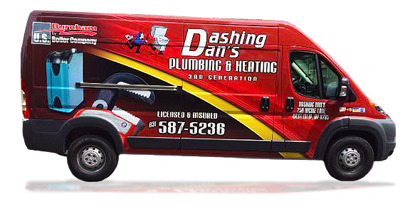 Have you seen Dashing Dan's Plumbing Around Long Island?