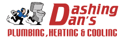 Dashing Dan's Plumbing Logo