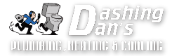 Dashing Dan's Plumbing Logo